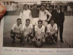El equipo de futbol